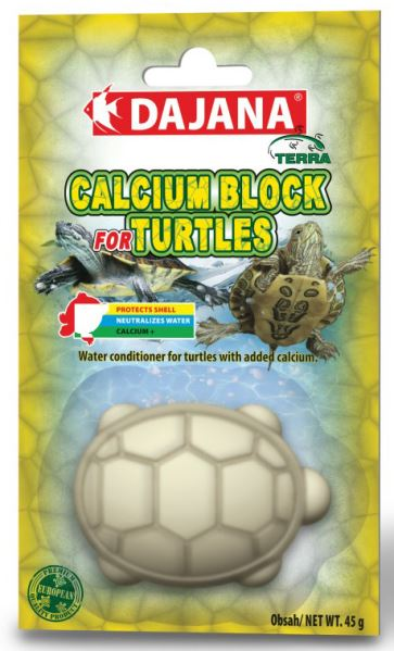 Dajana Calcium block for turtles 1ks