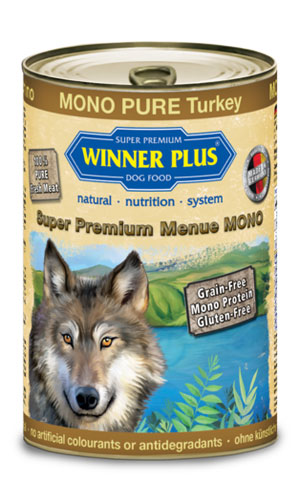 Winner Plus konzerva Super Premium Menue pes MONO PURE krocan 400g