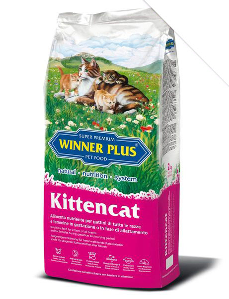 Granule kočka Winner Plus Kitten Cat 2kg