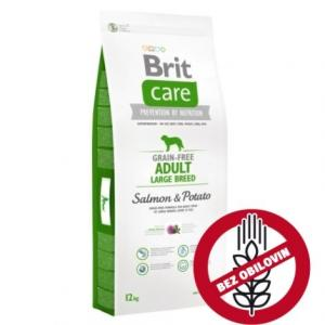 Brit Care Adult Grain-free Salmon&Potato 1kg