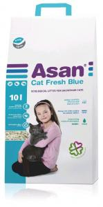 Podestýlka Asan Cat Fresh Blue 10l